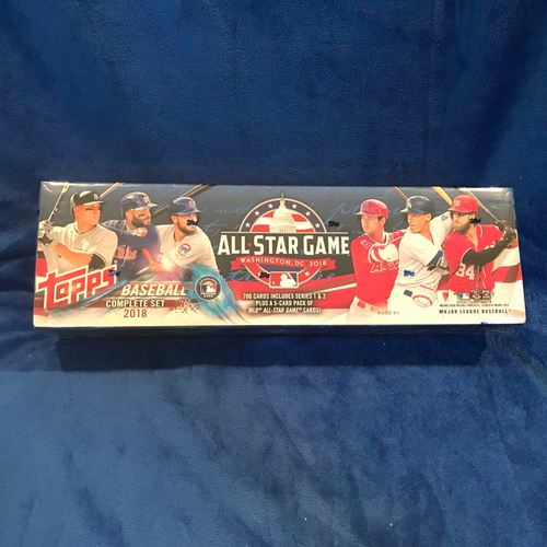 Photo of UMPS CARE AUCTION: 2018 Topps Complete Card Set +  All-Star Game Bonus Cards