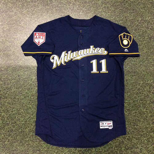 size 40 e807e 295f6 MLB Auctions | Mike Moustakas 2019 Team-Issued Spring ...