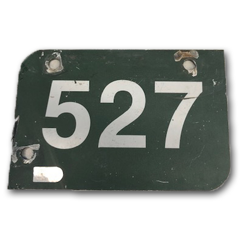 Photo of Wrigley Field Collection -- Aisle Marker 527 -- Removed after 2018 Season
