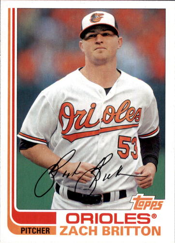 Photo of 2017 Topps Archives #166 Zach Britton