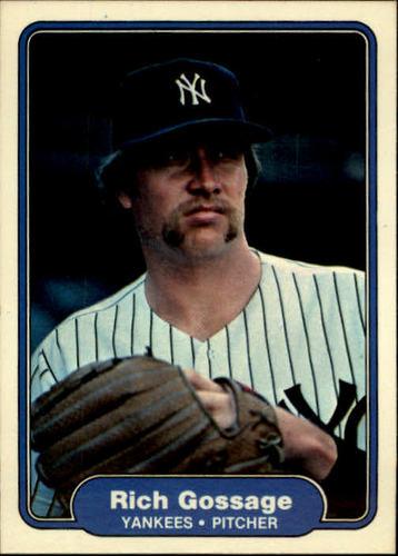 Photo of 1982 Fleer #37 Rich Gossage