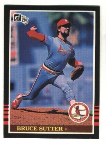 Photo of 1985 Donruss #109 Bruce Sutter