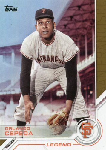 Photo of 2017 Topps Salute #S119 Orlando Cepeda