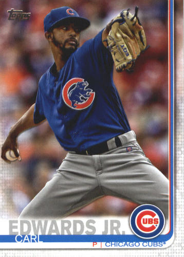 Photo of 2019 Topps #569 Carl Edwards Jr.