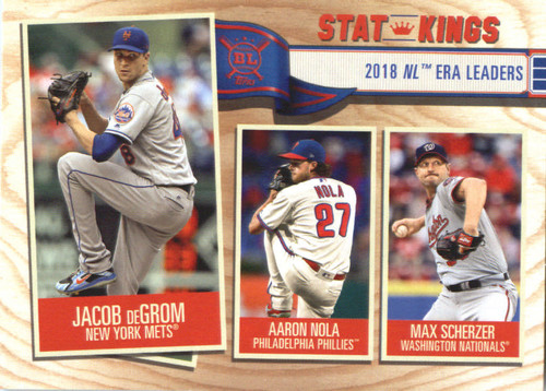 Photo of 2019 Topps Big League #362 Max Scherzer/Aaron Nola/Jacob deGrom