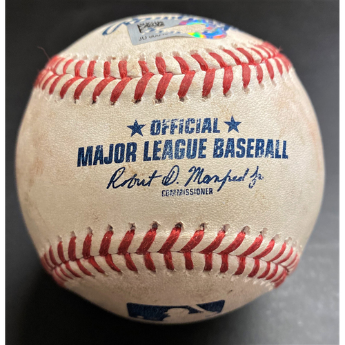 Photo of Game-Used Baseball:  Trevor Bauer Cincinnati Reds Strikeout (MLB AUTHENTICATED)