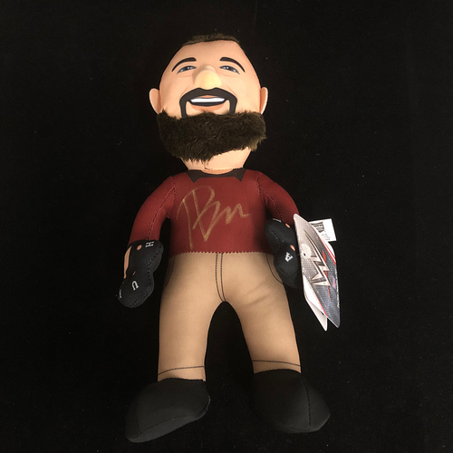 Photo of Bray Wyatt SIGNED Plush Bleacher Creature
