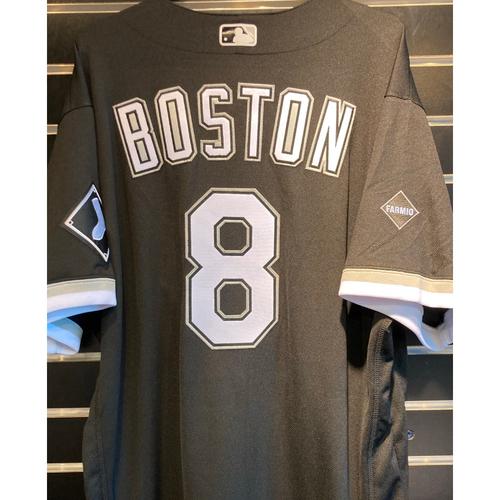 Photo of Daryl Boston Team Issued 2020 Black Alternate Jersey - Set 2