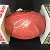 NFL - Patriots Damien Harris Signed Authentic Football