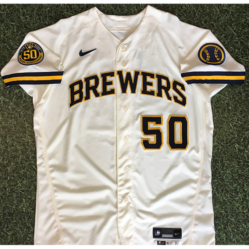 Photo of Ray Black 08/03/20 Team-Issued Home Opener Jersey