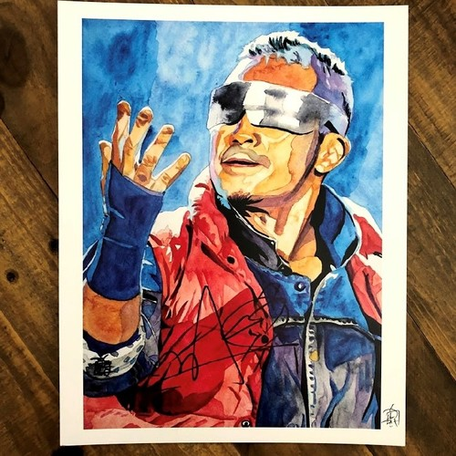 Photo of Kushida SIGNED 11 x 14 Rob Schamberger Print (Time Is Now)
