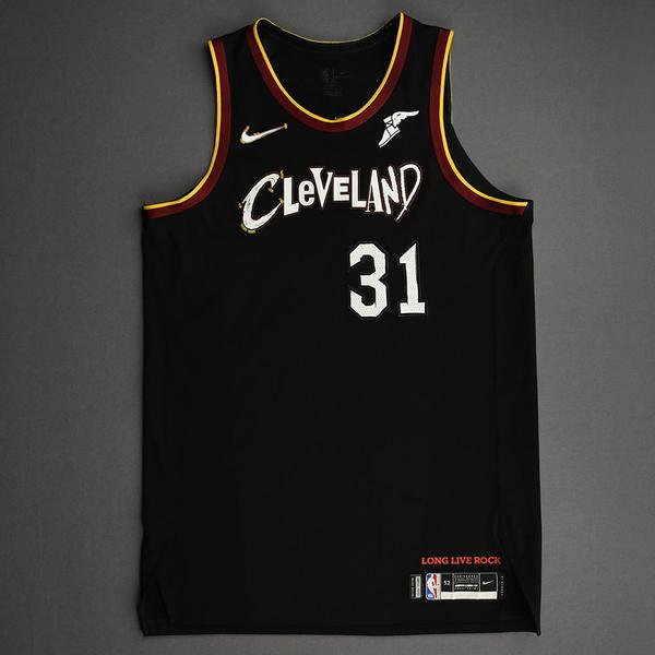 Image of Jarrett Allen - Cleveland Cavaliers - Game-Worn City Edition Jersey - 2020-21 NBA Season