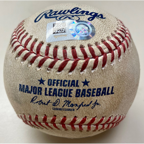 Photo of Game-Used Baseball: Miguel Cabrera Detroit Tigers Double (MLB AUTHENTICATED)