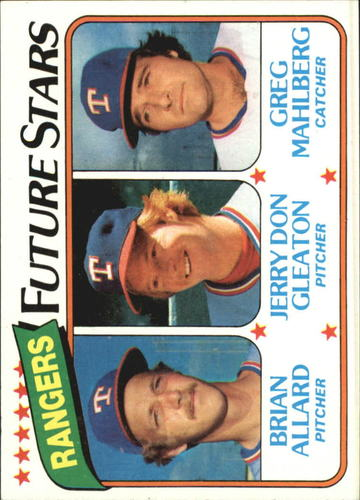 Photo of 1980 Topps #673 Brian Allard RC/Jerry Don Gleaton RC/Greg Mahlberg RC