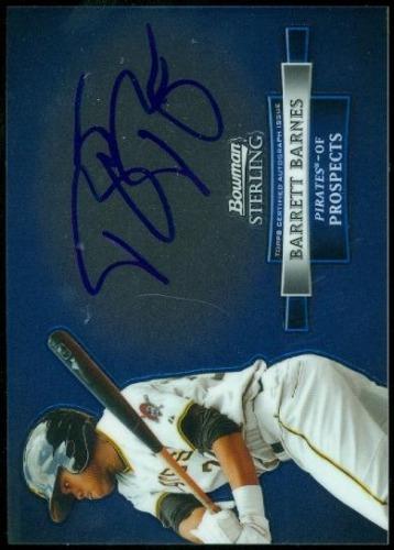 Photo of 2012 Bowman Sterling Prospect Autographs #BB Barrett Barnes