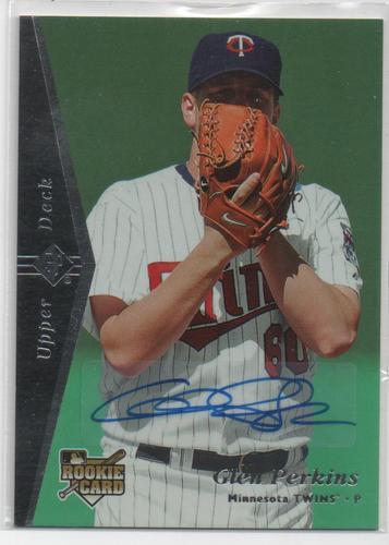 Photo of 2007 SP Rookie Edition Autographs #179 Glen Perkins 95