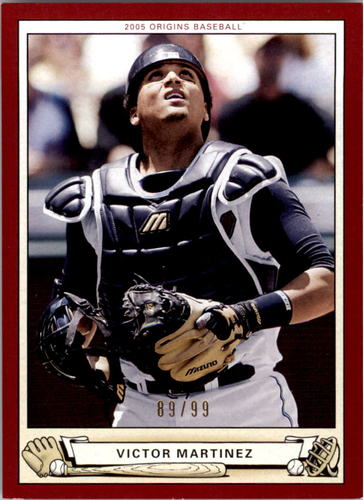 Photo of 2005 Origins Red #74 Victor Martinez