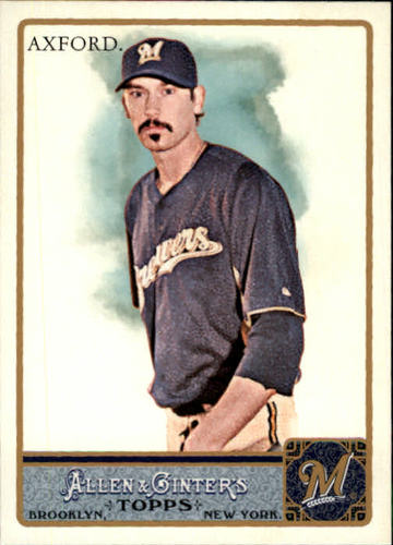 Photo of 2011 Topps Allen and Ginter #89 John Axford