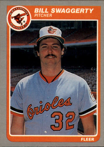 Photo of 1985 Fleer #193 Bill Swaggerty