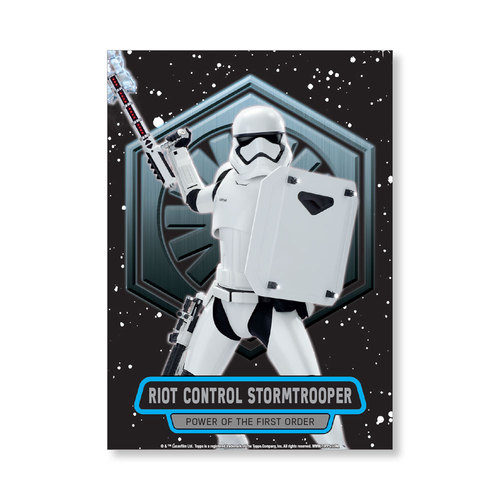 Riot Control Stormtrooper TFA Series 2 POWER OF THE FIRST ORDER Poster - # to 99