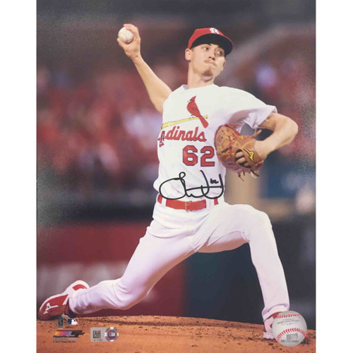 Cardinals Authentics: Luke Weaver Autographed Photo
