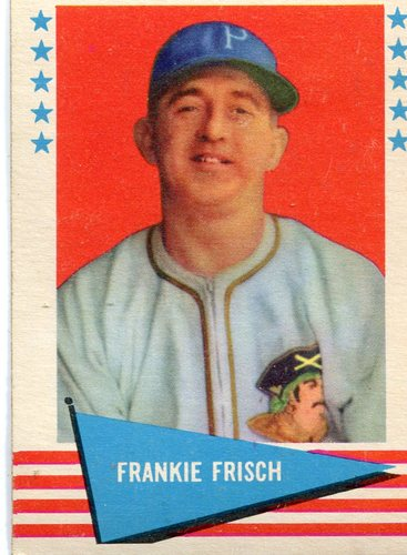 Photo of 1961 Fleer #30 Frankie Frisch-- Hall of Fame Class of 1947