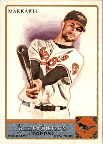 Photo of 2011 Topps Allen and Ginter #314 Nick Markakis SP