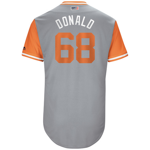 """Photo of Daniel """"Donald"""" Stumpf Detroit Tigers Game-Used Players Weekend Jersey"""