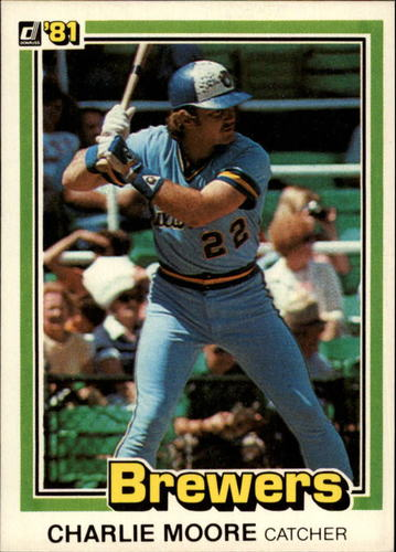 Photo of 1981 Donruss #324 Charlie Moore