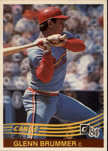 Photo of 1984 Donruss #138 Glenn Brummer