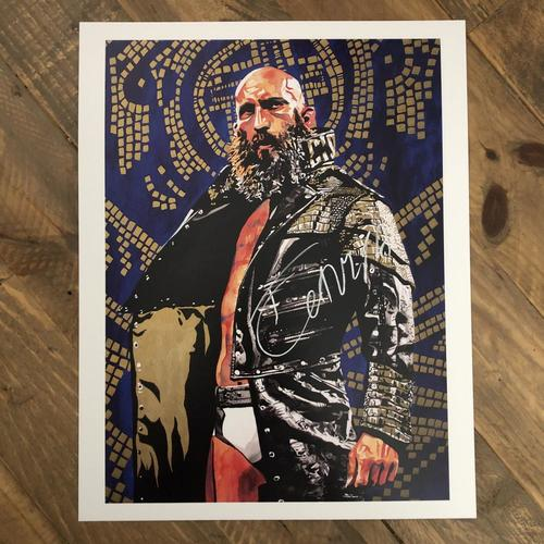 Photo of Tommaso Ciampa SIGNED 11 x 14 Rob Schamberger Print (2020 Collection)