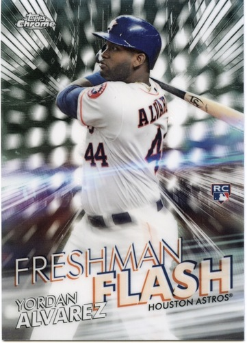 Photo of 2020 Topps Chrome Freshman Flash #FF15 Yordan Alvarez