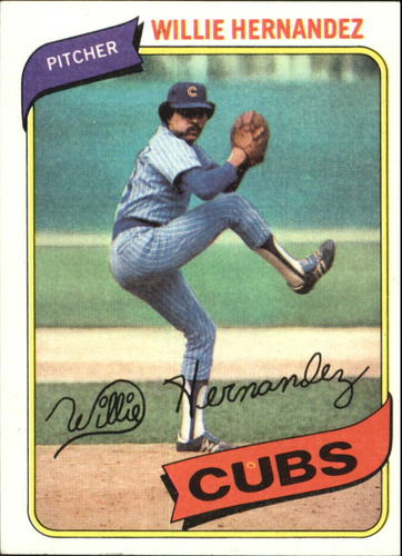 Photo of 1980 Topps #472 Willie Hernandez