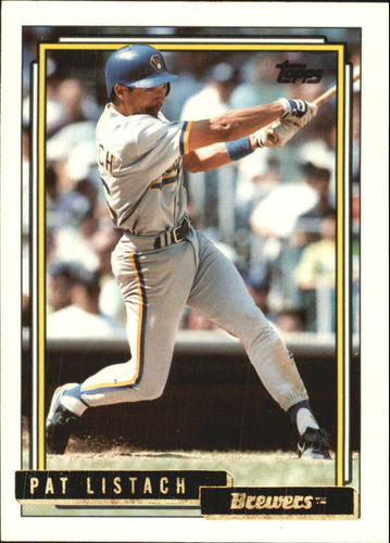 Photo of 1992 Topps Traded Gold #65T Pat Listach