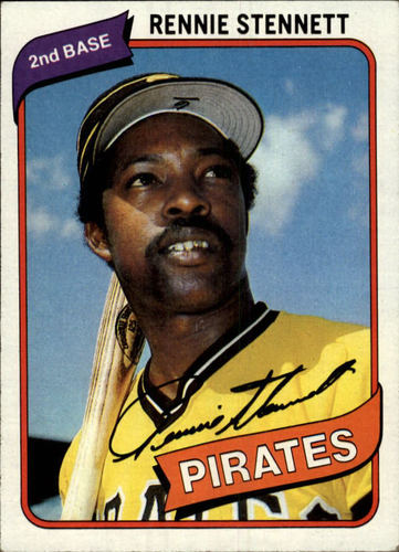Photo of 1980 Topps #501 Rennie Stennett