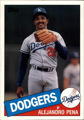 Photo of 1985 Topps Super #17 Alejandro Pena