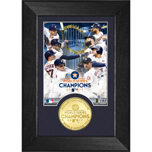 Photo of Houston Astros 2017 World Series Champions Bronze M-Series