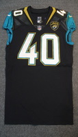 LONDON GAMES - JAGUARS  TOMMY BOHANON GAME WORN JAGUARS JERSEY (SEPTEMBER 24, 2017) SIZE 42