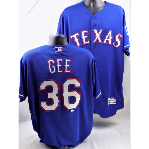 Photo of 2017 Dillon Gee Blue Team-Issued Jersey