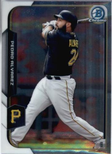 Photo of 2015 Bowman Chrome #57 Pedro Alvarez