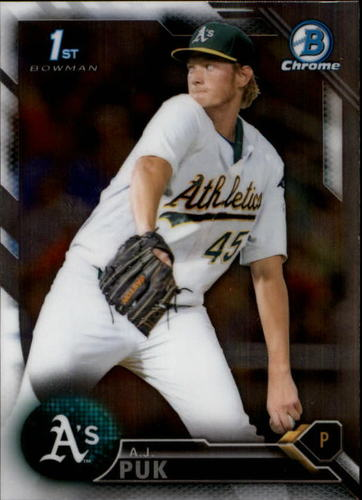 Photo of 2016 Bowman Chrome Draft #BDC25 A.J. Puk