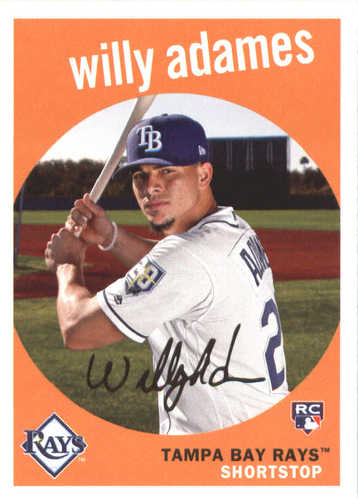 Photo of 2018 Topps Archives #95 Willy Adames RC