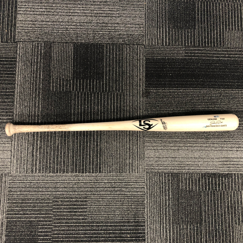 Photo of San Francisco Giants - 2018 Game Used Broken Bat - used by #12 Joe Panik - RBI Single - 9/22/18 vs STL - Pitcher: Wainwright