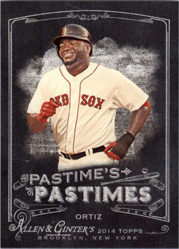 Photo of 2014 Topps Allen and Ginter The Pastime's Pastime #PPDO David Ortiz