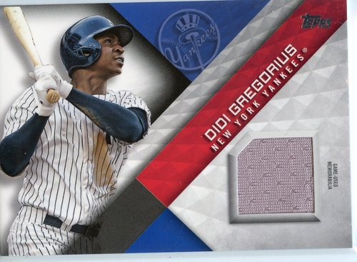 Photo of 2018 Topps Major League Materials #MLMDR Didi Gregorius S2