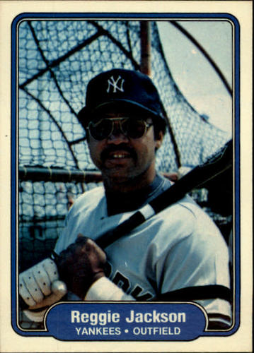 Photo of 1982 Fleer #39 Reggie Jackson