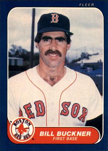 Photo of 1986 Fleer #343 Bill Buckner