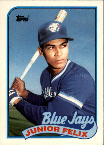 Photo of 1989 Topps Traded #32T Junior Felix RC