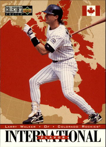 Photo of 1996 Collector's Choice #326 Larry Walker IF