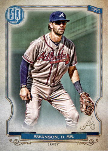 Photo of 2020 Topps Gypsy Queen #221 Dansby Swanson